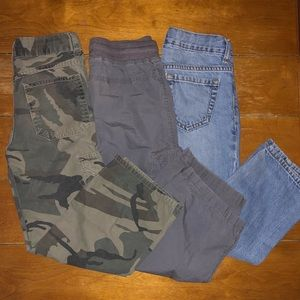 3 Pair of Youth Boys Pants all Size 6